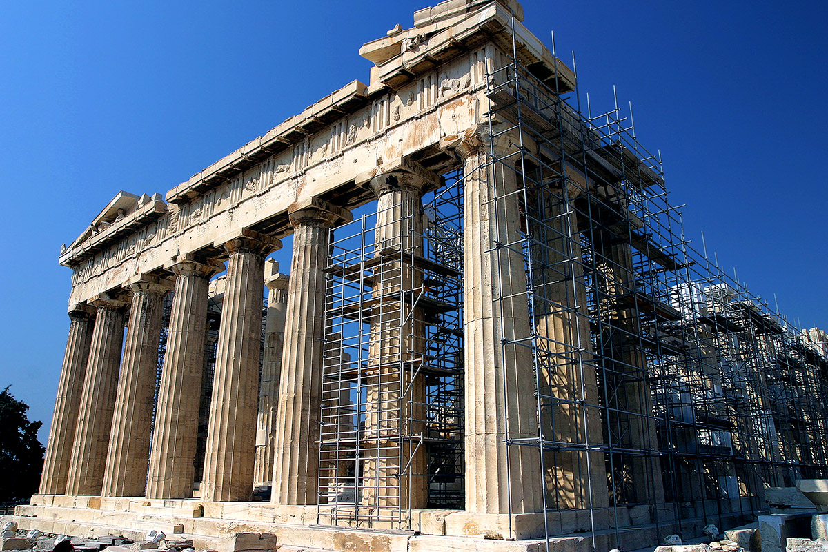 the construction of the parthenon The parthenon, athena, and the ideal greek allison lee the ancient greek temple known as the parthenon has long since been considered a great illustration of the ideal, classical architectural construction.