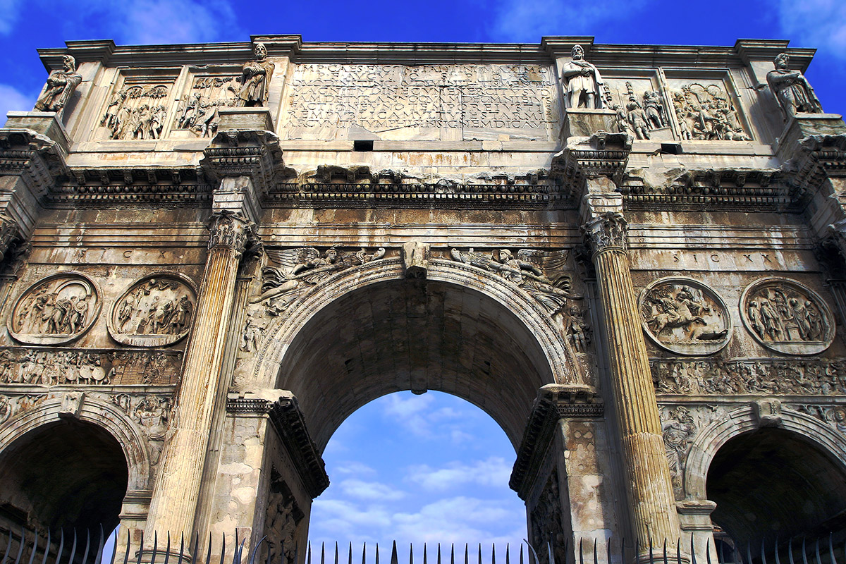 Ancient Roman Arch Arch Of Constantine Ancient