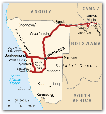 namibia_route_map