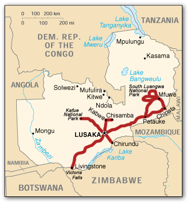 zambia_route_map