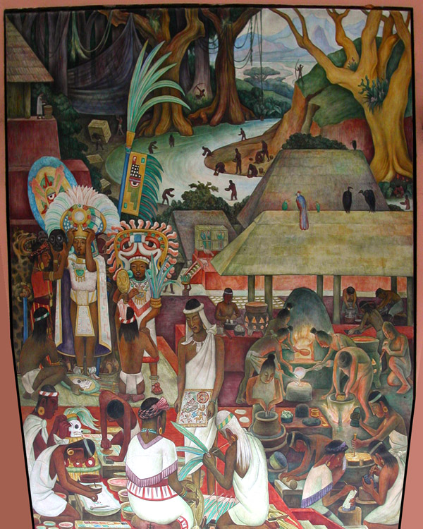 Diego rivera murals mexico travel photos hey brian for Diego rivera mural 1929