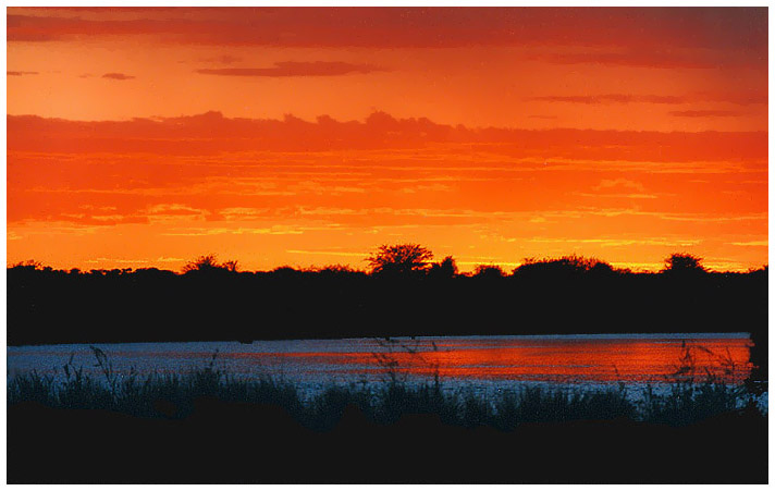 namibia/angola_sunset