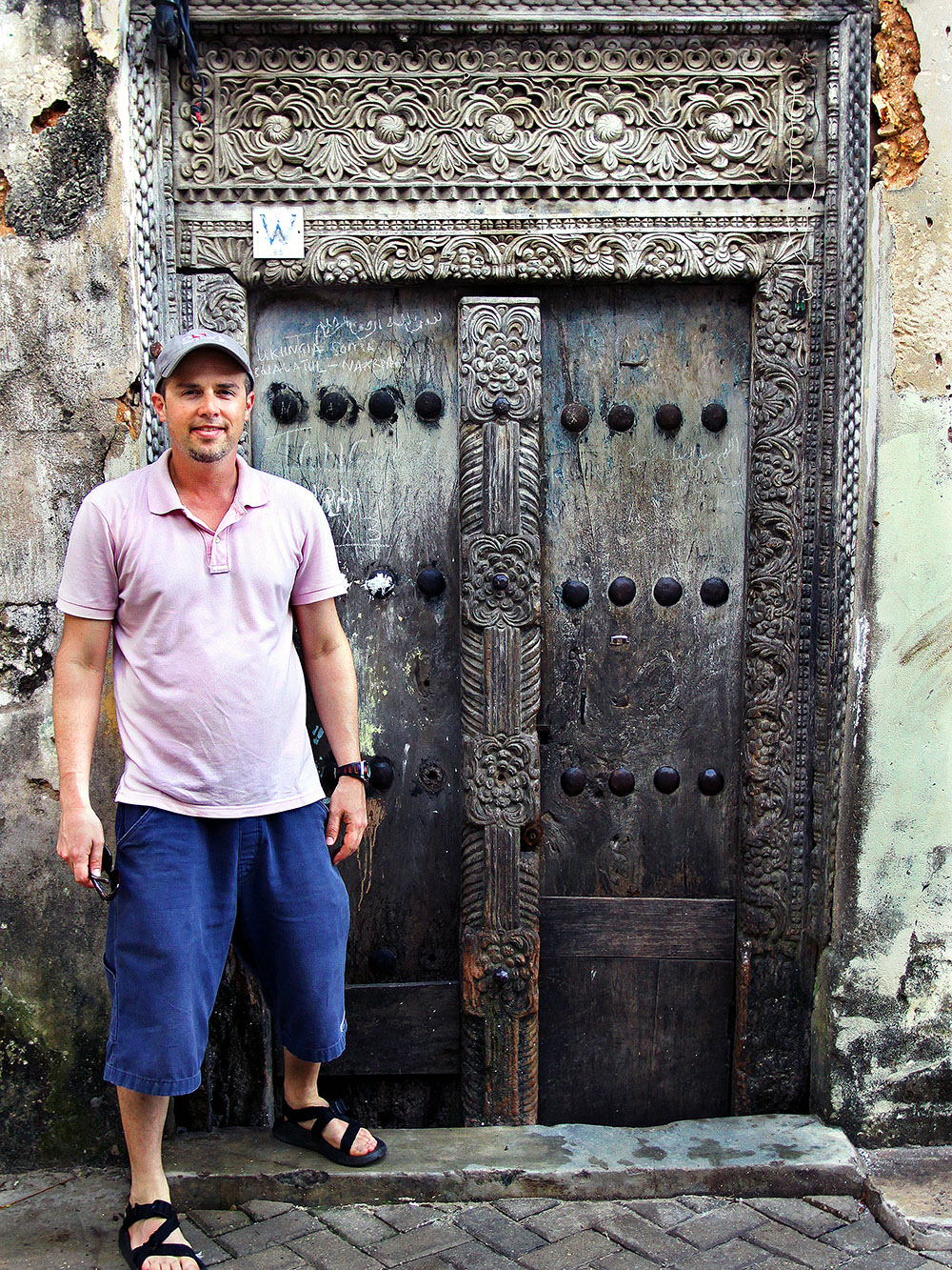 Wooden doors of Zanzibar Tanzania \u2014 May 29 2010  sc 1 st  Hey Brian? & Zanzibar Tanzania travel photos \u2014 Hey Brian?